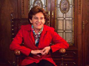Délia Steinberg Guzman Présidente internationale